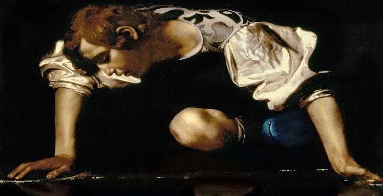 narcissus-caravaggio-780
