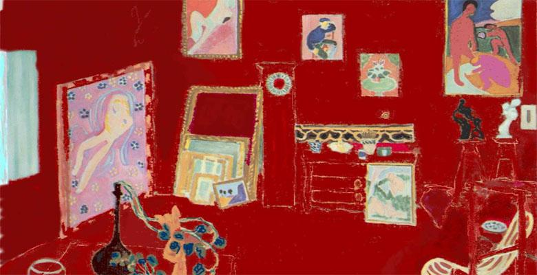 Henri Matisse-Red studio780