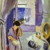 woman-reading-henri matisse-1919